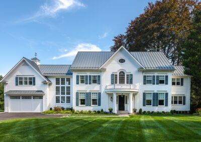 Exterior House Painting Project in Orange, CT
